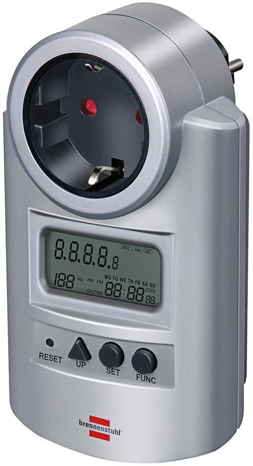 Brennenstuhl EL matuoklis, voltai / vatai, sidabrinis  1506600 / GT-463