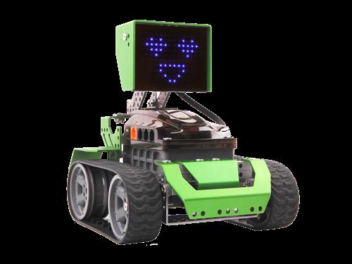 Programuojamas robotas RoboBloq 174 dalys, valdomas telefonu, žalias / Qoopers