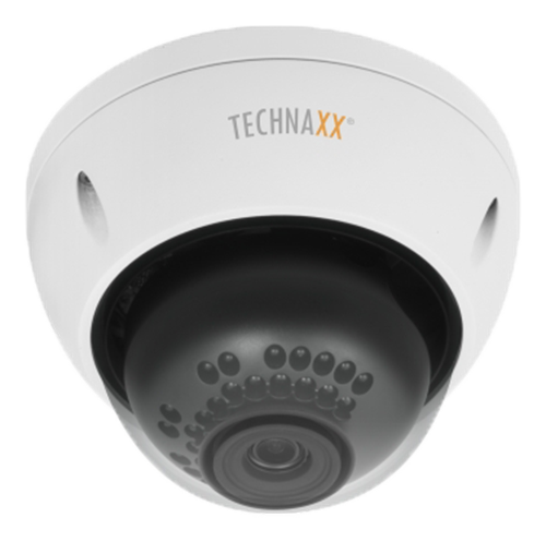 "Lauko kamera Technaxx Dome PRO, FullHD,1/3""3MP, RJ-45, balta / TX-66 / TECH-030"