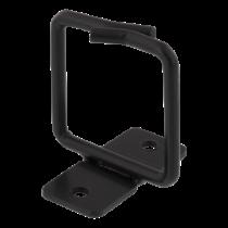 Kabelio žiedas vertikaliam tvirtinimui, 43x43mm, metalas DELTACO juodas / 19-11