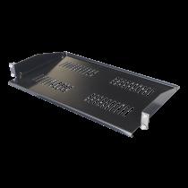 Fiksuota lentyna TOTEN skirta G-serijai, 1U, 266,7mm gylio, 475mm gylio ir aukštesnėms spintoms / 19-FH16G