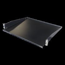 Fiksuota lentyna TOTEN skirta G-serijai, 1U, 381mm gylis, skirta 600mm ir didesnio gylio spintoms / 19-FH17G