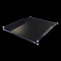 Fiksuota lentyna TOTEN skirta G-serijai, 1U, 566mm gylio, skirta 800mm ir didesnio gylio spintoms / 19-FH38G