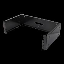 """DELTACO 19 """"sieninis laikiklis, 3U, maks. 25 kg, plieno konstrukcija, juoda"""
