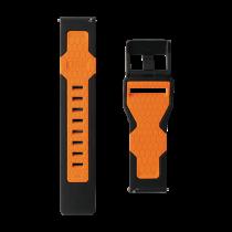 """UAG """"Samsung Galaxy Watch"""" 46 mm civilinis dirželis juodas / oranžinis 283395"""