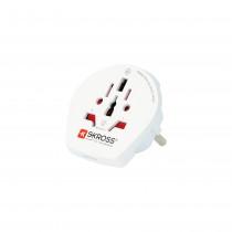 """""""SKROSS Single Adapter Europe"""", kelioninis adapteris iš viso pasaulio į CEE 7/4-out"""