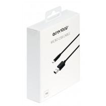 Kabelis Essentials MicroUSB-USB-A, 1m, juodas / 387925