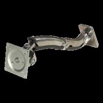 Sieninis laikiklis Ergotron iki 30, max 13kg, VESA 100x100, aliuminis, sidabrinis / 45-228-026