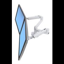 Laikiklis stalo Ergotron 2 LCD ekranams, aliuminis, 27 / 45-491-216