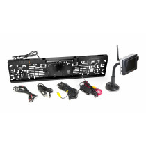 Technaxx bevielė galinės kameros sistema su 3,5 TFT ekranu TX-110