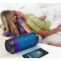 MusicMan Bluetooth kolonėlė V4.0 ~10m LED Light Soundstation / BT-X26