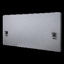 Akustinė darbo stalo siena DELTACO OFFICE 1200 (W) x600 (H) mm, pilka / DELO-0150