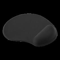 Gelinis pelės kilimėlis DELTACO OFFICE juodas / DELO-0207