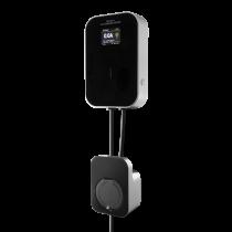 e-Charge įkrovimo stotelė DELTACO skirta naudoti namuose, 1-fazė 6-16A, Mode 3, tipas 2 / EV-4120