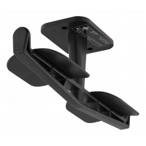 Ausinių laikiklis DELTACO GAMING dviem ausinėms, ABS plastikas, 3M, juodas / GAM-062