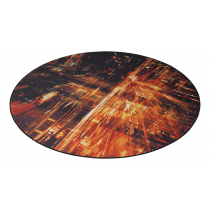 Riboto leidimo grindų kilimėlis DELTACO GAMING DFP420 110x110cm / GAM-126