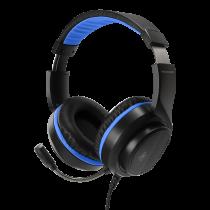 Ausinės DELTACO GAMING skirtos Sony Playstation 5, 2m kabelis, juodas / mėlynas / GAM-127