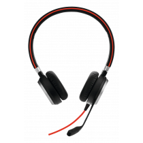 Ausinės Jabra EVOLVE 40 UC Stereo, su mikrofonu, juodos / JABRA-309