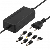 Maitinimo šaltinis DELTACO 100-240 V, 5-15 V DC 3 A, max 36 W, 6 tips, juodas / PSR-30A