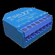 Įleidžiamas WIFI jungiklis Shelly 1 kanalas, kompaktiškas, mėlynas / SHELLY-1L