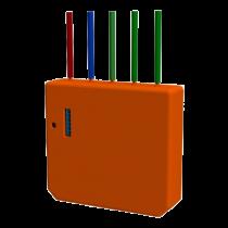 Įleidžiamas WIFI siųstuvas Shelly 3 kanalai, oranžinis / SHELLY-I3