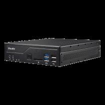 Slim PC Shuttle DH410 Barebone, LGA1200 lizdas, Intel H410, juodas / PIB-DH410001 / SHUT-169
