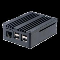 Aliuminis korpusas AKASA Pi  skirtas Raspberry Pi 3 Model B / B + ir ASUS Tinker Board / Board S, juoda / A-RA03-M1B