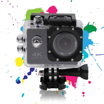 "Kamera DELTACO 2"", Wi-Fi, 4K Ultra HD, micro SDHC, juoda / A12"