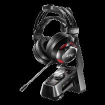 Ausinės žaidimams A-DATA XPG SOLOX F30+EMIX H30, juodos / ADATA-378