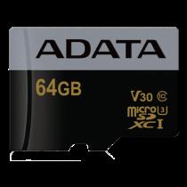 Atminties kortelė A-DATA Premier Pro MicroSDXC, 64GB / ADATA-394