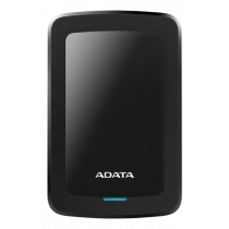 ADATA 2TB išorinis diskas, 10.3mm, USB 3.1, Quick Start, Juodas AHV300-2TU31-CBK / ADATA-432