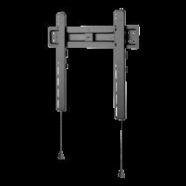 """Fiksuotas sieninis laikiklis DELTACO OFFICE ypač plonas, 32""""-55"""", 35kg, 100x100-400x400, juodas / ARM-0150"""