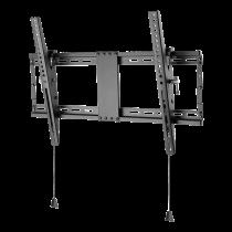 """Pakeliamas sieninis laikiklis DELTACO OFFICE lankstomas, 37""""-80"""", 70kg, 200x200-600x400, juodas / ARM-0204"""