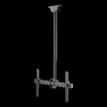 "DELTACO OFFICE Teleskopinis viso judesio LED / LCD lubinis laikiklis, 37-70 "", 1060 - 1560 mm, iki 50kg, juodas ARM-0401"