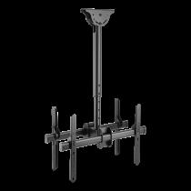 """DELTACO OFFICE Teleskopinis LED / LCD lubinis laikiklis, 37-70 """", 560 - 910 mm, iki 45kg,  juodas ARM-0403"""