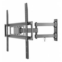 "DELTACO, TV laikiklis 3 krypčių, 37""-70"", 35kg, 200x200-600x400 juodas / ARM-1201"