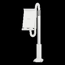 """DELTACO Telefonų / planšečių laikiklis,  4 """"ir10.6"""" , Baltas / ARM-277"""