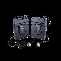 Bevielė sistema su mikrofonu BOYA 2.4 GHz GFSK, juoda / BY-WM5 / BOYA10017
