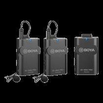 """""""BOYA BY-WM4 Pro"""" dviejų kanalų skaitmeninis belaidis mikrofonas, Black / BOYA10093"""