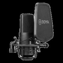 BOYA didelio diafragmos kondensatoriaus mikrofonas