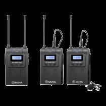 BOYA BY-WM8 Pro-K2 UHF belaidis mikrofonas su vienu imtuvu BOYA10116
