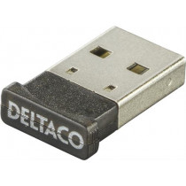 Bluetooth nano adapteris DELTACO, USB 2.0, juodas / BT-118