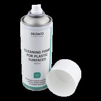 DELTACO Plastikinių paviršių valymo putos, 400 ml / CK1023