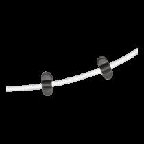 Kabelio laikiklis DELTACO 6 vnt., juodas / CM514