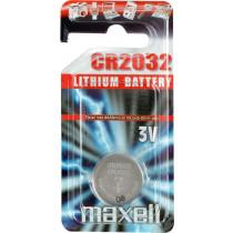 Maxell ličio elementas, 3V (CR2032), 1 pakuotė / CR2032