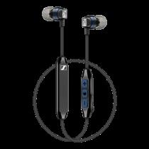 Ausinės Sennheiser į ausis, bevielės, Bluetooth 4.0, juodos / CX6-00BT