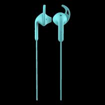 Ausinės DeFunc Go SPORT į ausis, su mikrofonu, žydros / D0126