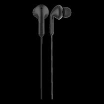 Ausinės DeFunc Go MUSIC į ausis, su mikrofonu, juodos / D0131