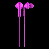 Ausinės DeFunc Go MUSIC į ausis, su mikrofonu, rožinės / D0135