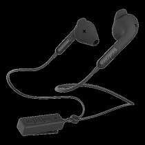 Ausinės DeFunc BT HYBRID, į ausis,  su mikrofonu, juodos / D0241